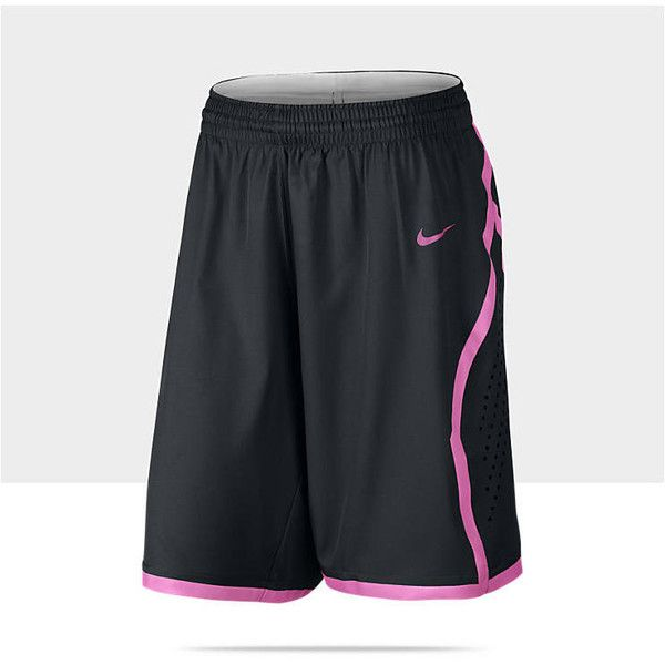 Nike Hyper Elite Women S Basketball Shorts Black L 55 Liked On Polyvore Basketball Clothes Nike Basketball Shorts Basketball Shorts Girls