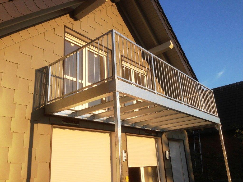 Balkon Und Balkongelander Aus Verzinktem Stahl In 2020 Balkon Bauen Balkon Verzinkter Stahl