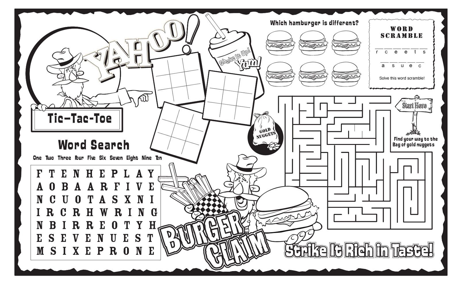 Activity Worksheets To Print