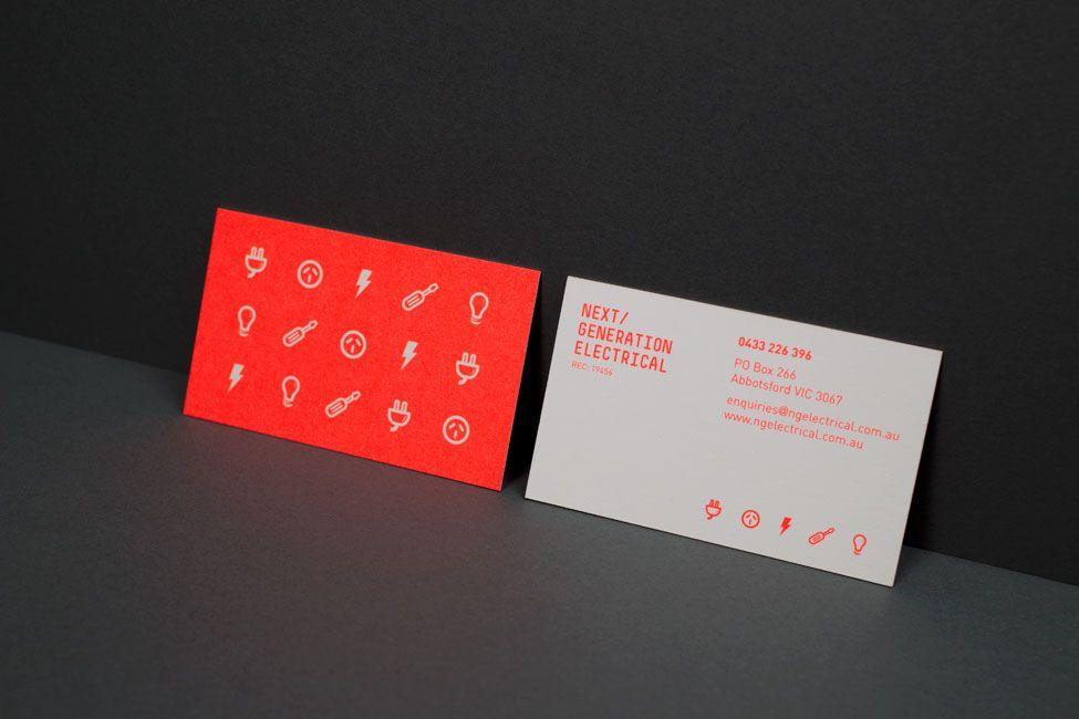 Next Generation - Business Card Design Inspiration | Card Nerd ...