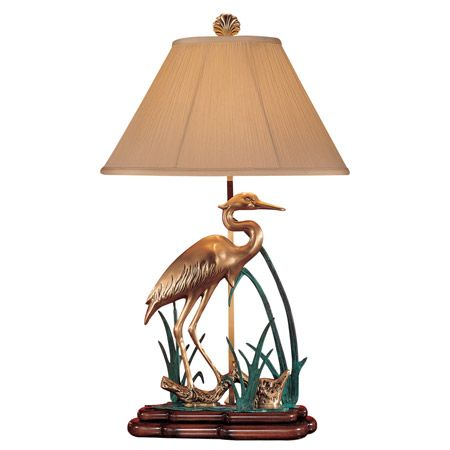 Marvelous Wading Crane Bird Table Lamp. Gallery