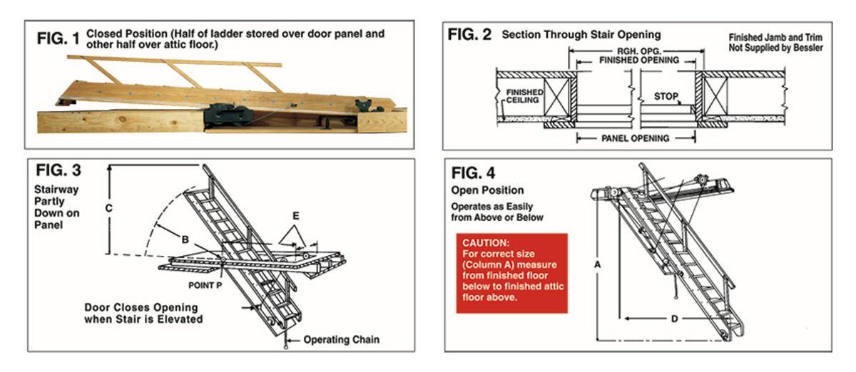 American Stairways Compare Models Stairways, Attic