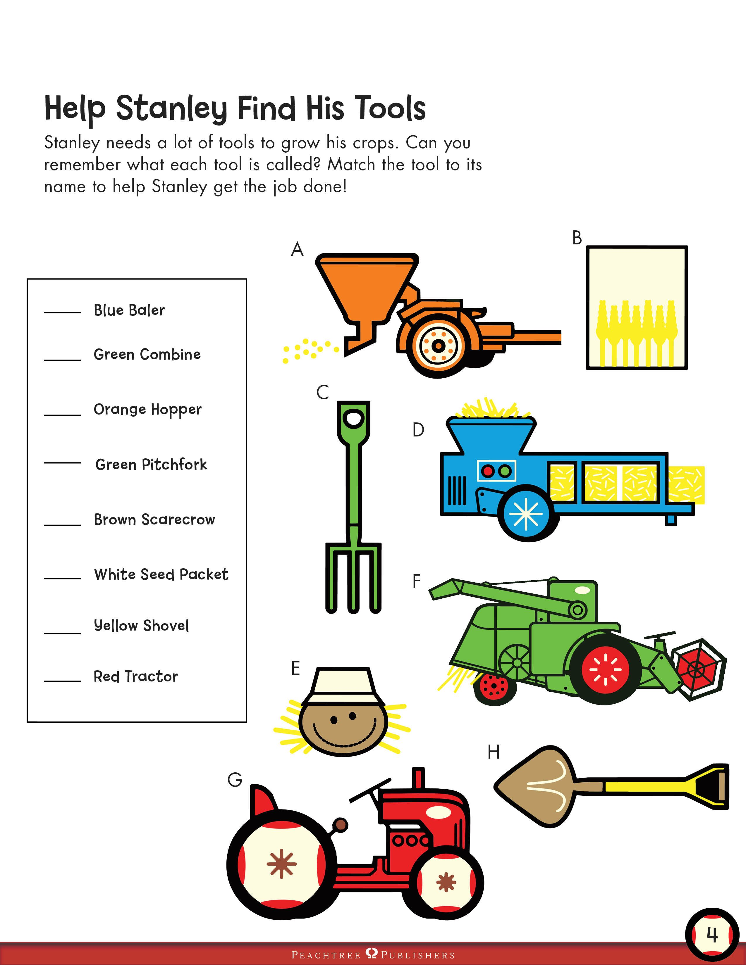 Helps Stanley Find His Tools A Color Matching Worksheet To Do After Reading Stanley The Far Preschool Worksheets Free Preschool Worksheets Worksheets For Kids [ 3301 x 2550 Pixel ]