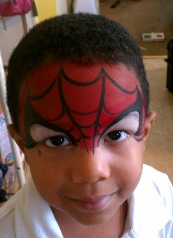 spiderman must have face paint carlos 39 s avengers birthday party pinterest superhero face. Black Bedroom Furniture Sets. Home Design Ideas