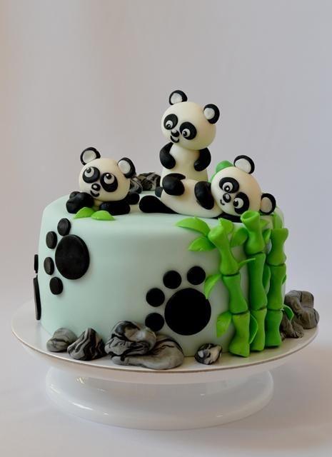 71 Torta Panda Detsk 233 Torty Cakes For Kids Panda