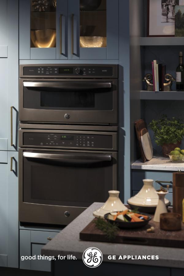 Matte Slate Advantium Wall Oven Combo A Kitchen Must Have Wall