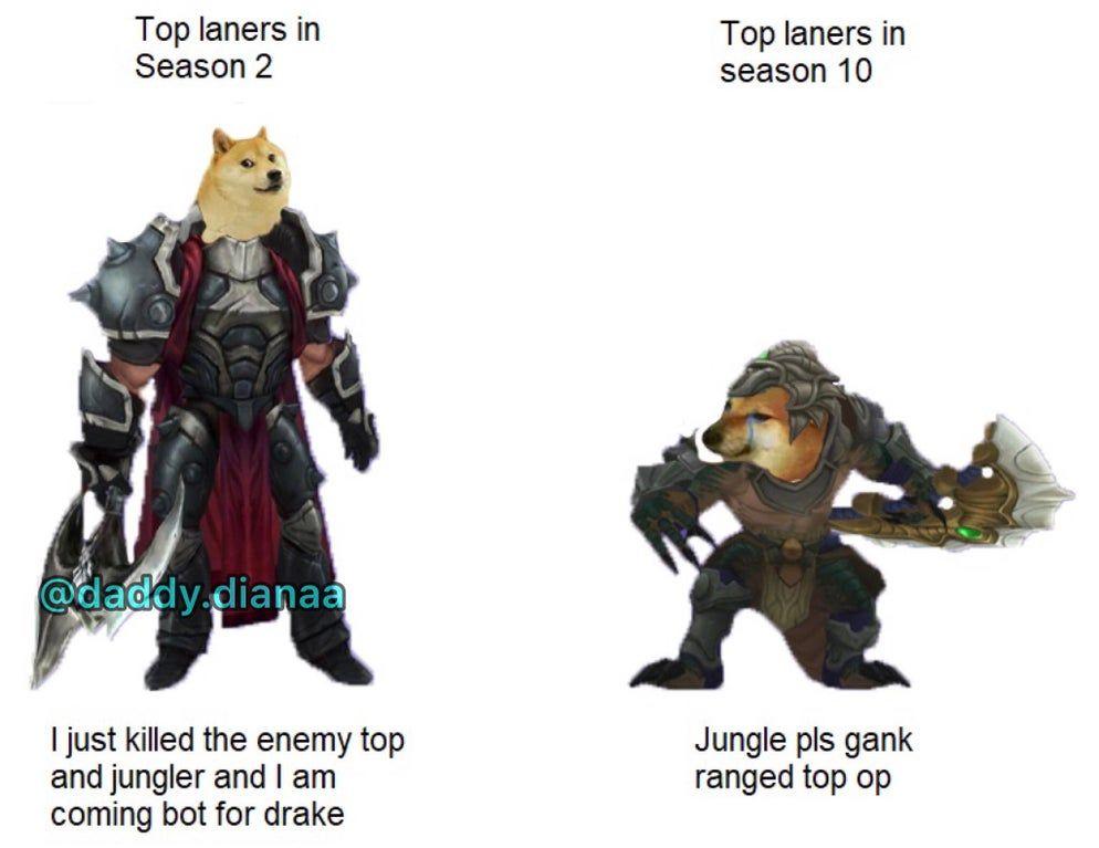 Jg Diff Leagueofmemes Memes League Of Legends Fresh Memes