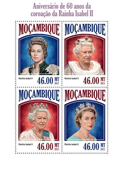 Moz 13521 A 60th Anniversary Of Queen Elizabeth Ii S Coronation 60th Anniversary Elizabeth Ii Queen Elizabeth Ii