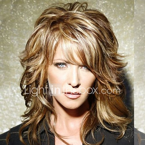 Human Hair Capless Wigs Human Hair Natural Wave Layered Haircut Short Hairstyles 2019 With Bangs Halle Berry Hairstyles Side Part Ombre Medium Length Machin Hair Styles Wavy Mid Length