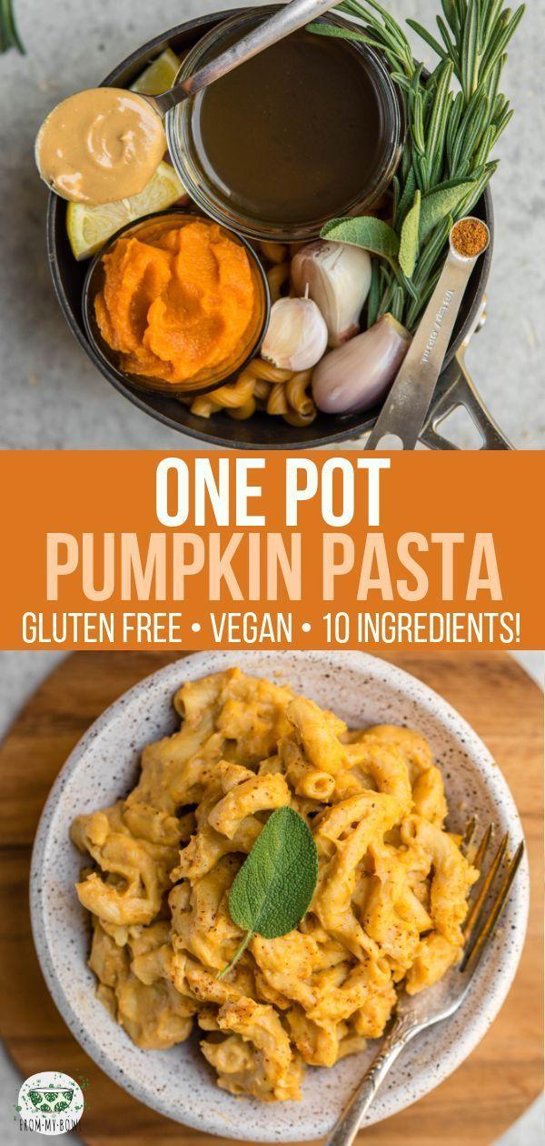 One Pot Pumpkin Pasta