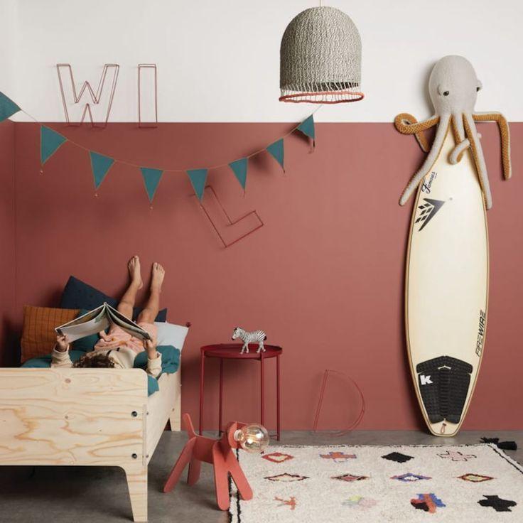 Kids' bedroom inspiration. Bold colours, elegant details et cuddly toys, like @liveloudgirl and @…   Kid room decor, Kids bedroom inspiration, Kids room inspiration