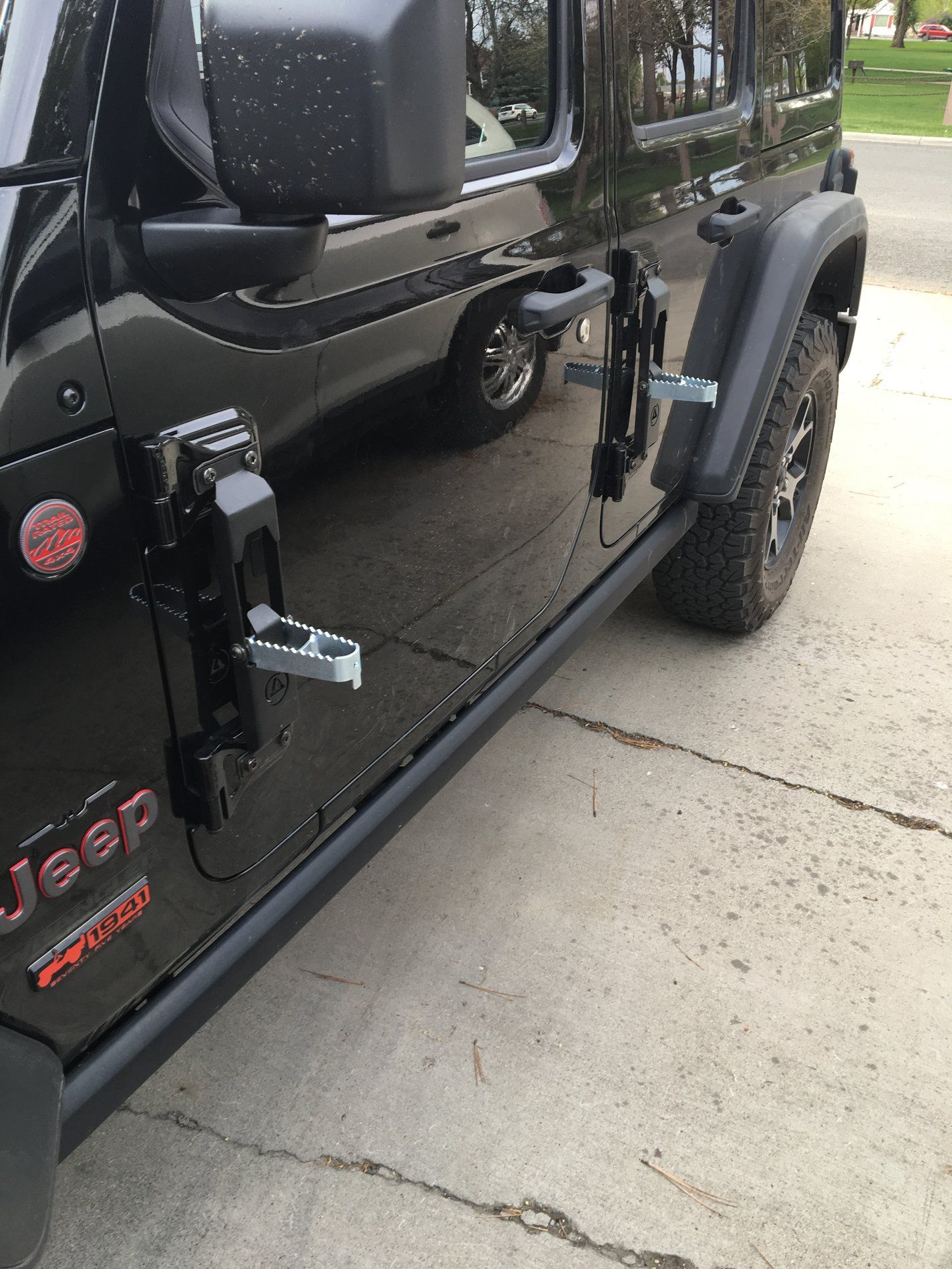 Door Hinge Steps Page 2 2018 Jeep Wrangler Forums Jl Jlu Rubicon Sahara Sport Unlimited Jeep Wrangler Forum Jeep Accessories Jeep Wrangler Sport