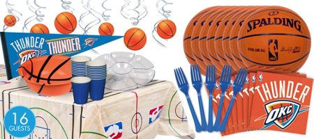 For Kais Next Bday Party OKC Thunder Supplies