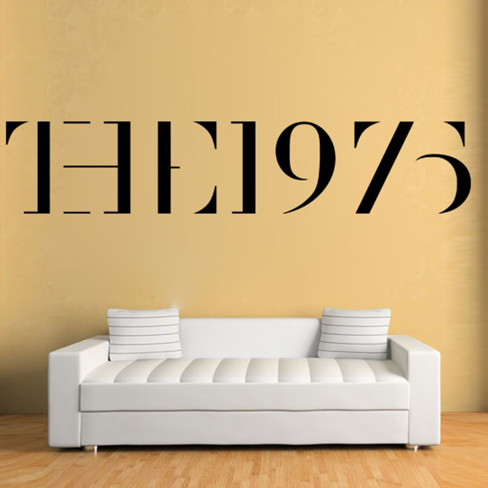 The 1975 Vinyl Wall Sticker Poster Decal Decoration Pop Rock Music ...
