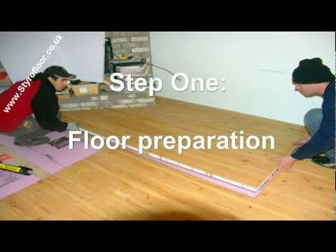 Pin By Shane Castane On Home Improvement Floor Insulation Insulation Floor Preparation