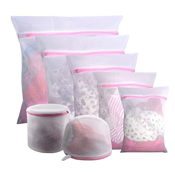 Amazon Com Gogooda 7pcs Mesh Laundry Bags For Delicates With