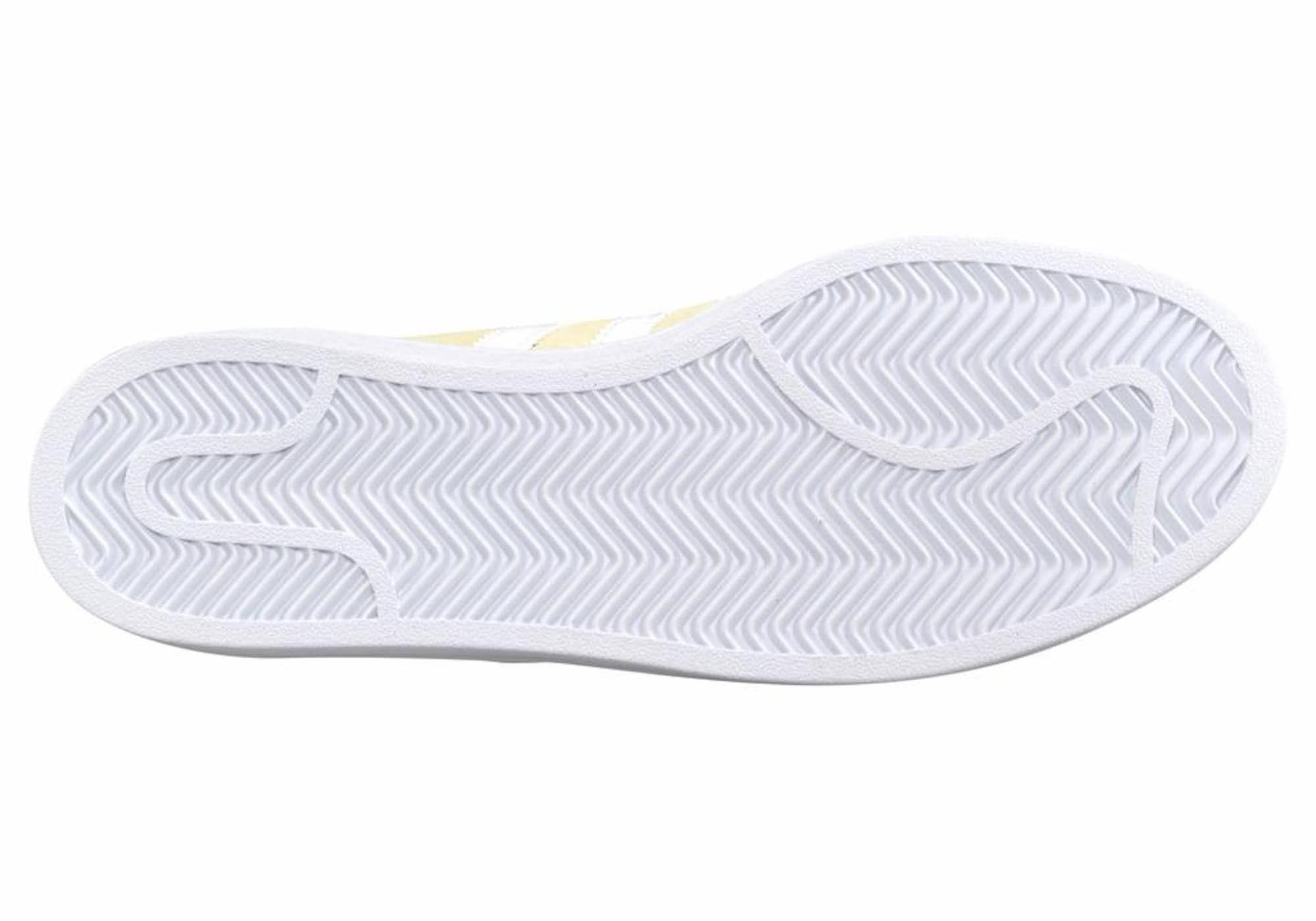 ADIDAS ORIGINALS Sneaker 'Campus' Damen, Hellgelb / Weiß ...