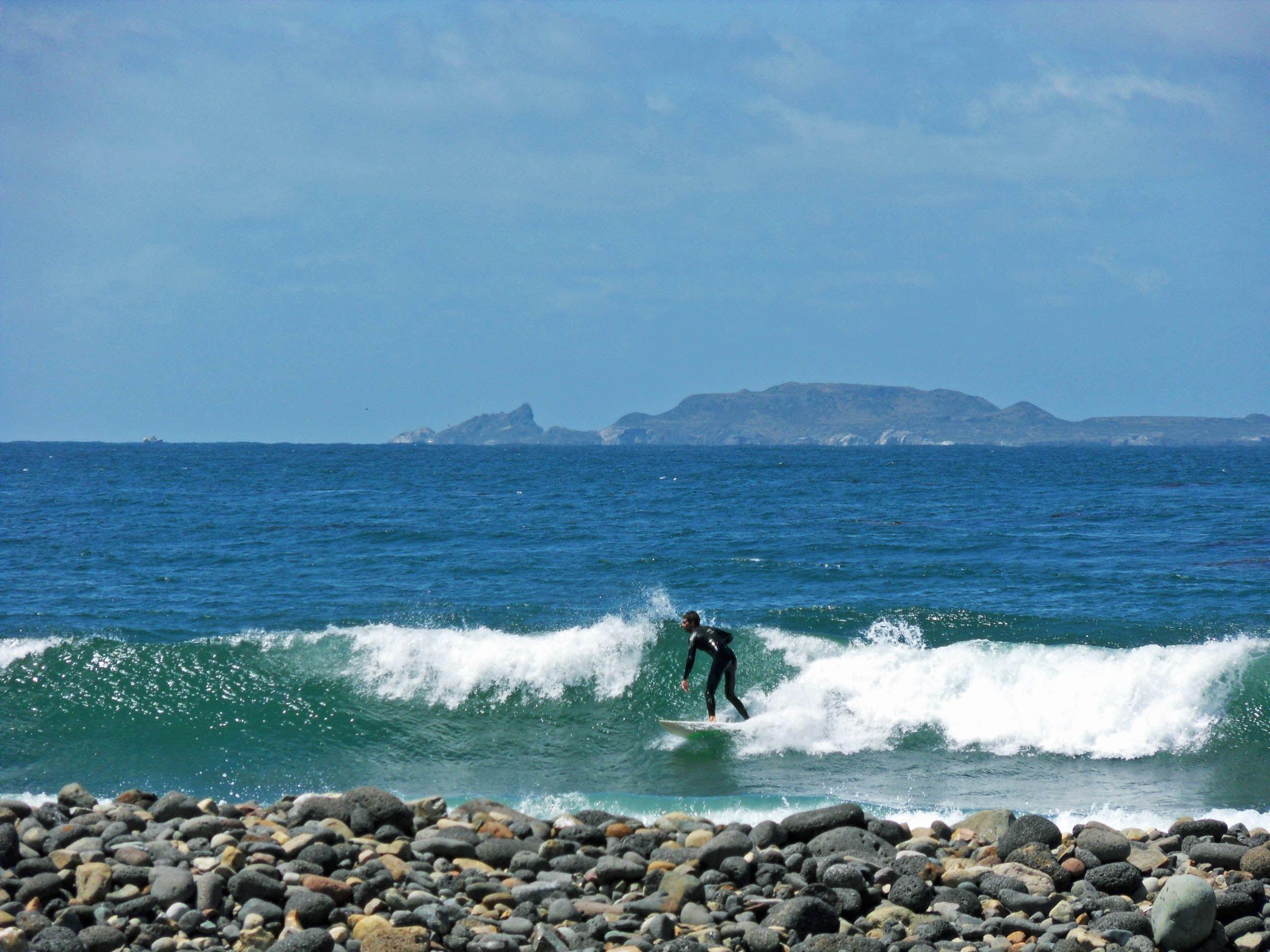 Surfing San Miguel Ensenada Baja California