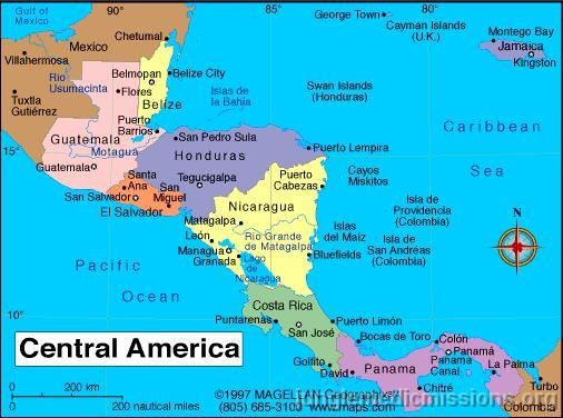 Visit Every Country In Central America 2 Will Be Done This Summer: Central America Map Google Images At Codeve.org