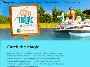 The Disney Channel's Catch the Magic Sweepstakes | Sweepstakes