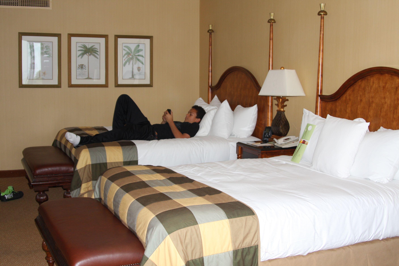 Our room in La Quinta