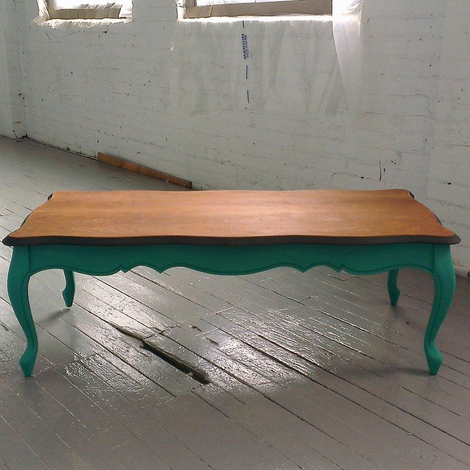 Foxy Green Table Caf En Bois De Style Colonial Fran Ais  # Foxy Muebles Y Objetos