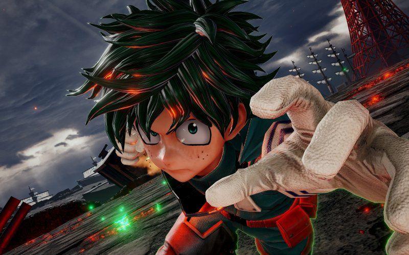 Wallpaper Izuku Jump Force Video Game My Hero Academia My Hero Hero
