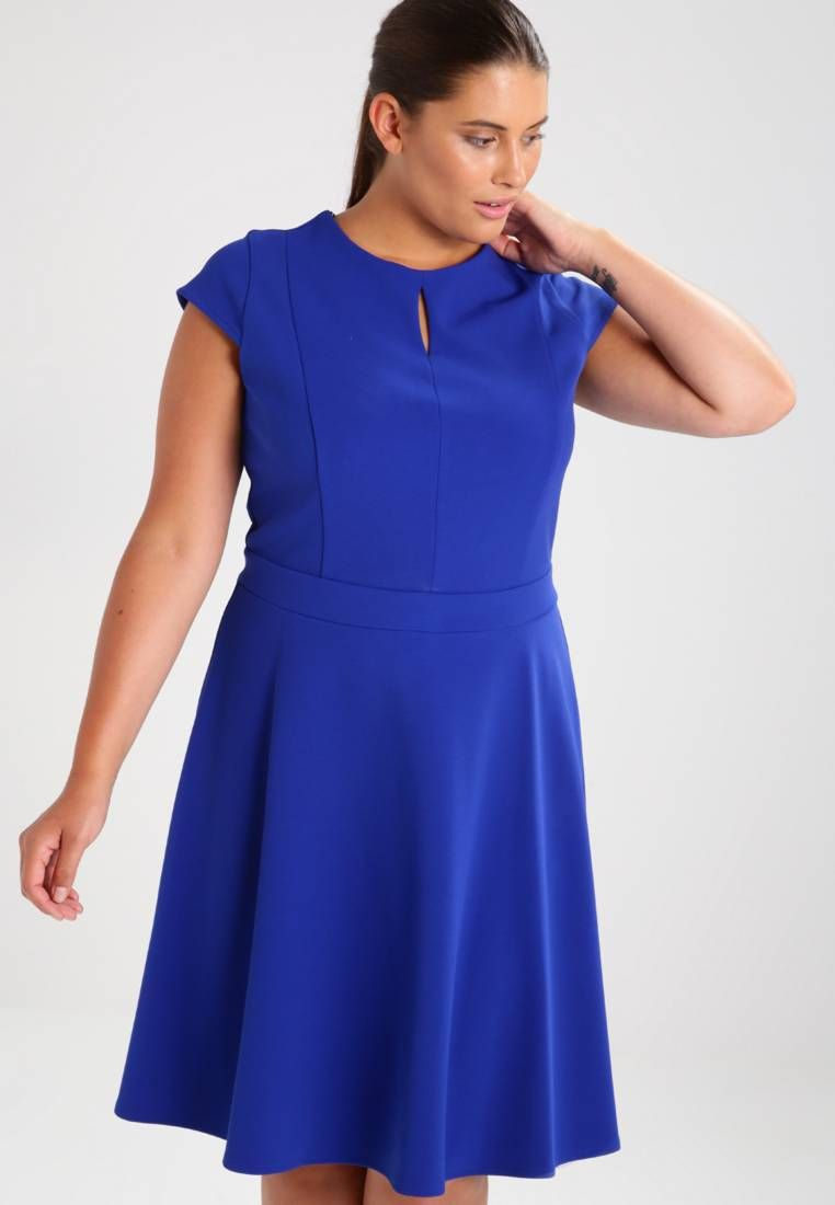 dorothy perkins curve. keyhole - jerseykleid - blue