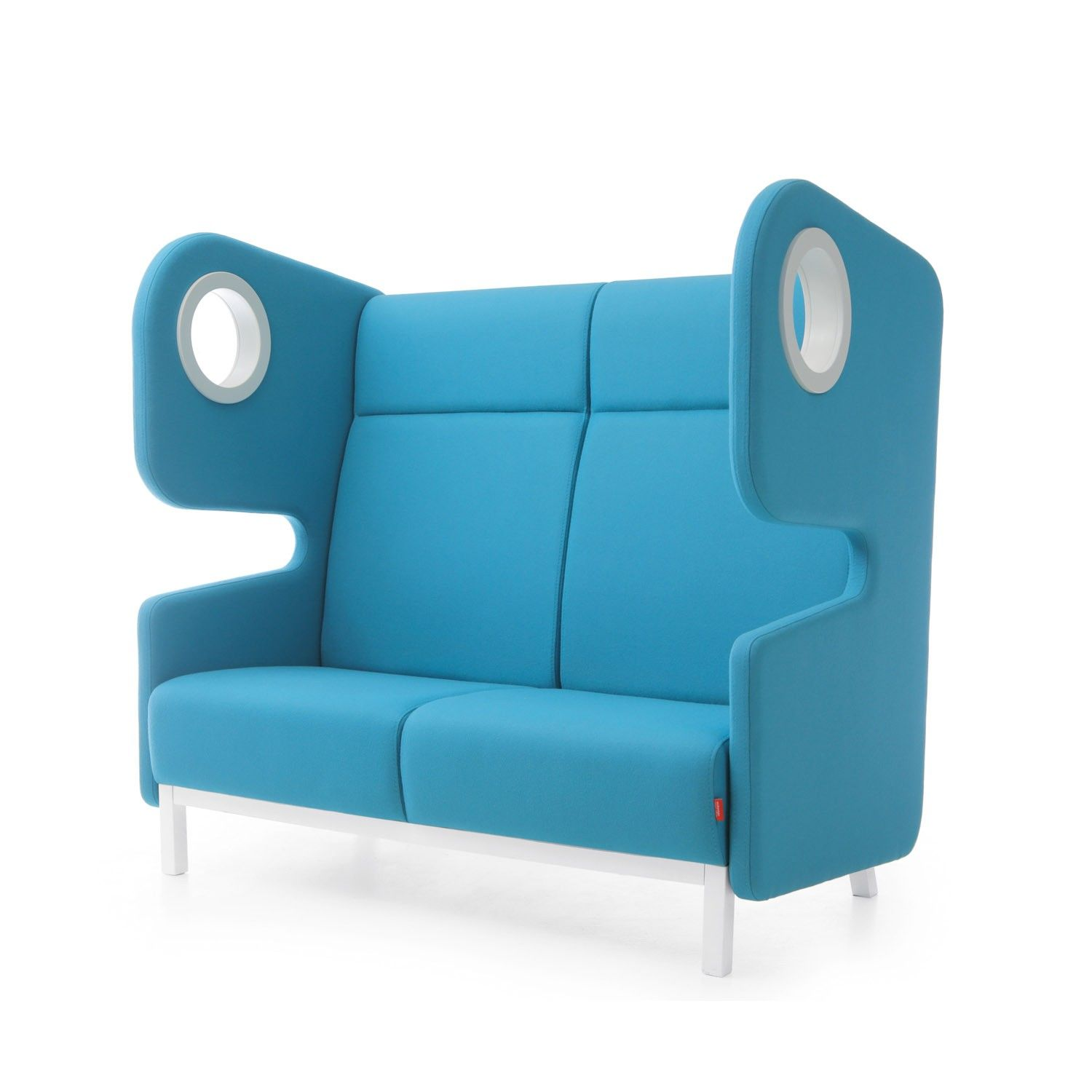 Packman High Back Sofa is a soft seating system that prises a