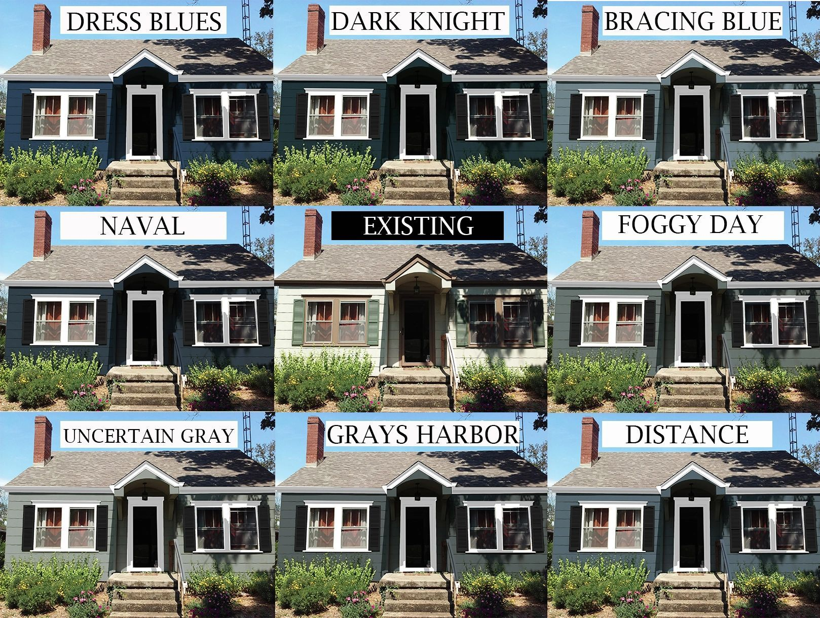 Color Overlay For Exterior Paint