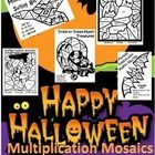 This is a five piece Halloween themed Multiplication Mosaic activity designed for students needing practice with multiplication facts. These work w...