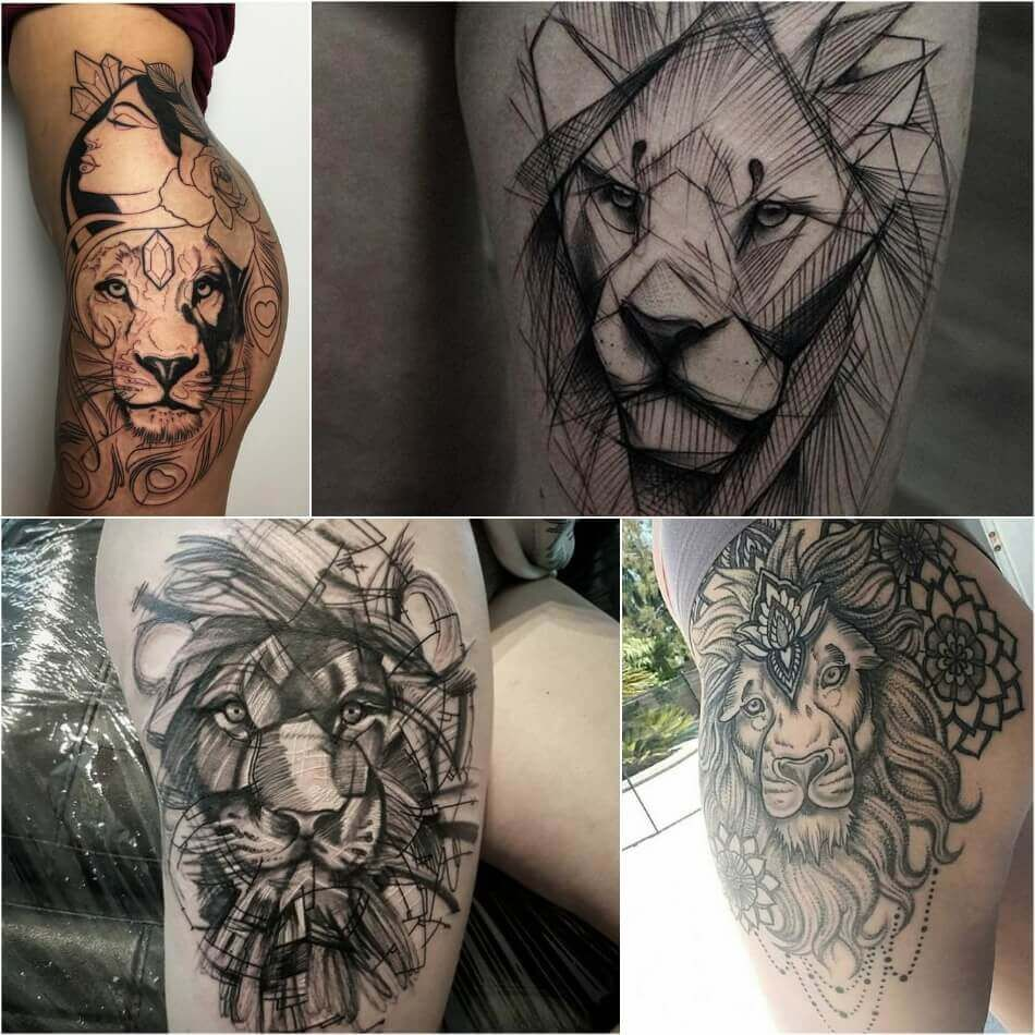 Lion Tattoo Meaning Lion Tattoo Ideas for Men and Women