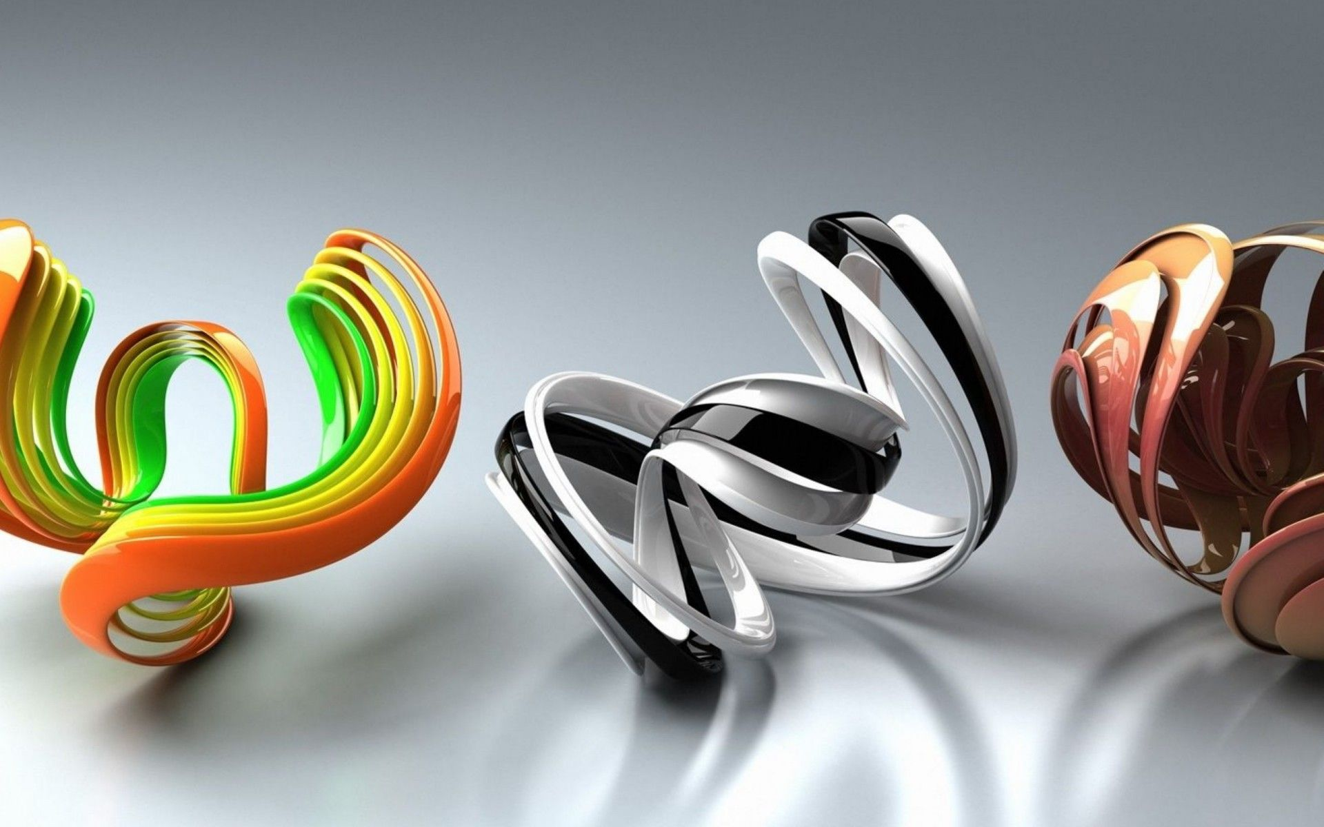 Spiral Colorful Form Shape Surface HD Wallpaper Shapes