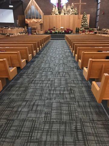Crossing Carpet Tile By Ef Contract 1 4 Installation Modular Carpet Tiles Church Design Healthcare Design