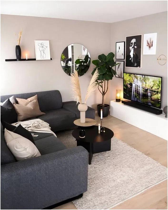 Photo of 25 herrliche Wohnzimmer-Farbschemata, zum Ihres Raumes gemütlich zu machen #decoappartement – Home Decor ideas