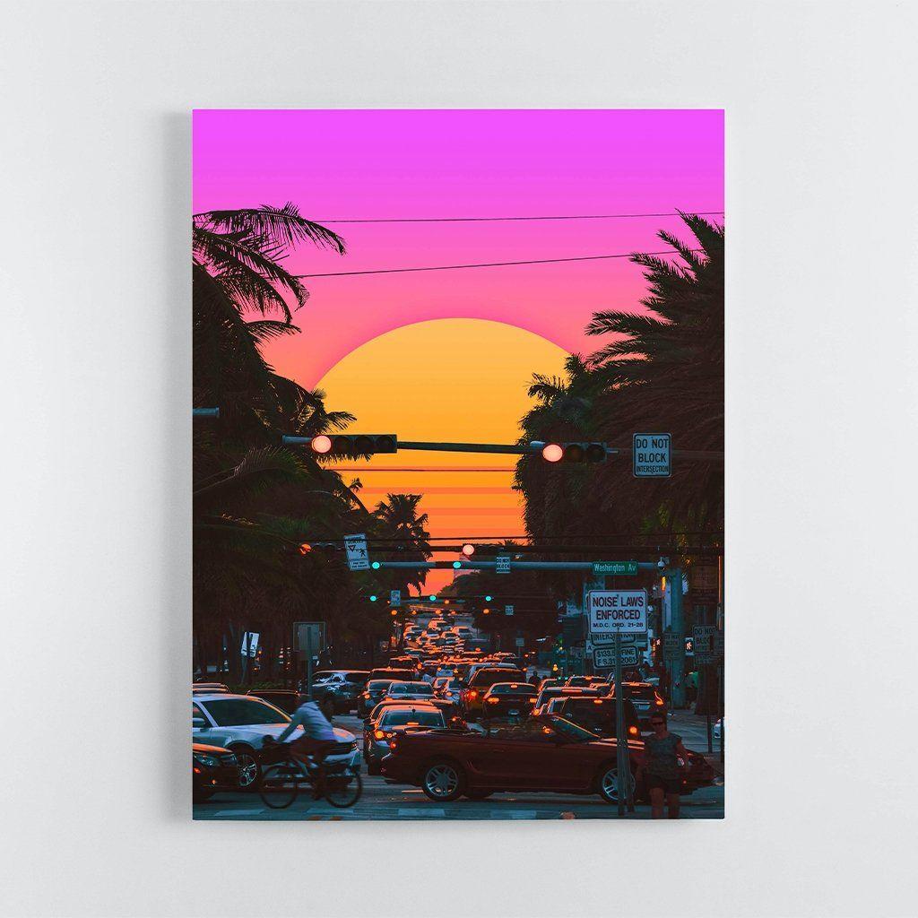 Miami Vice - 40 x 60