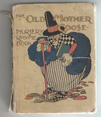 Old Mother Goose Nursery Rhyme Book Anne Anderson