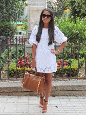 a485f37ba mariatrschic Outfit vestido blanco Verano 2012. Cómo vestirse y combinar  según mariatrschic el 3-9-2012