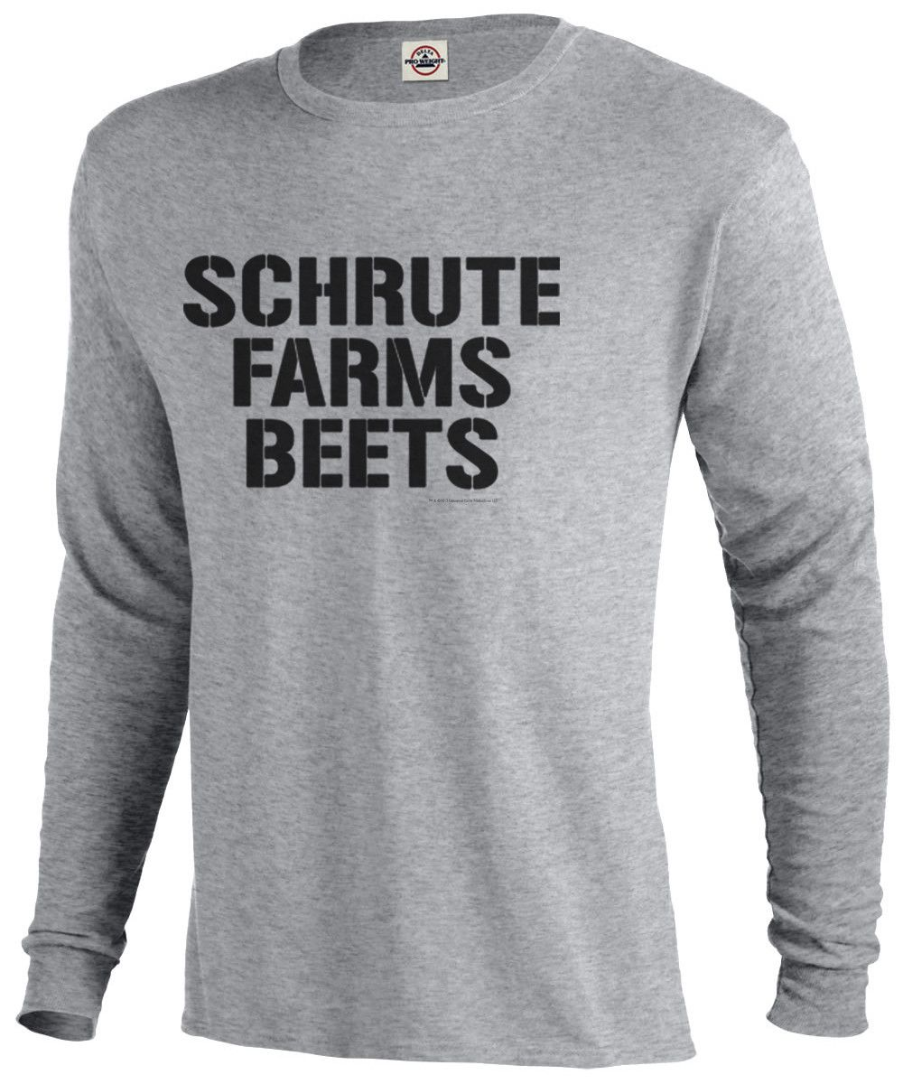 Predownload: The Office Schrute Farms Beets Long Sleeve T Shirt Schrute Farms Beets Long Sleeve Tshirt Shirts [ 1200 x 1000 Pixel ]