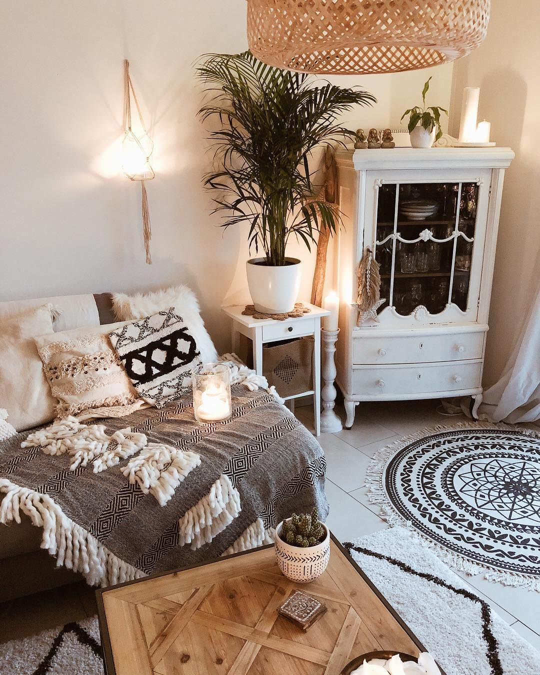 Scandi Boho Home Instagram _heimliebe_ Diy home decor