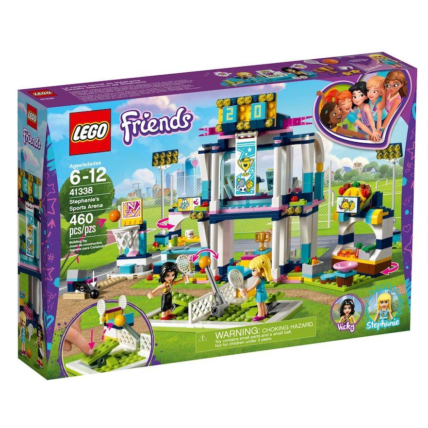 Lego Friends Stephanie S Sports Arena 41338 In 2020 Madchen Spielzeug Kinderspielzeug Lego Spielzeug