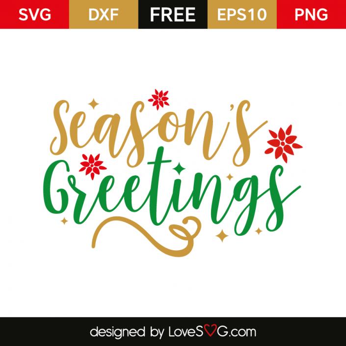 Seasons Greetings >> Season S Greetings Cricut Explore Christmas Svg Free