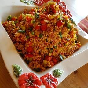Kisir – türkischer Bulgursalat | Rezept | Kitchen Stories