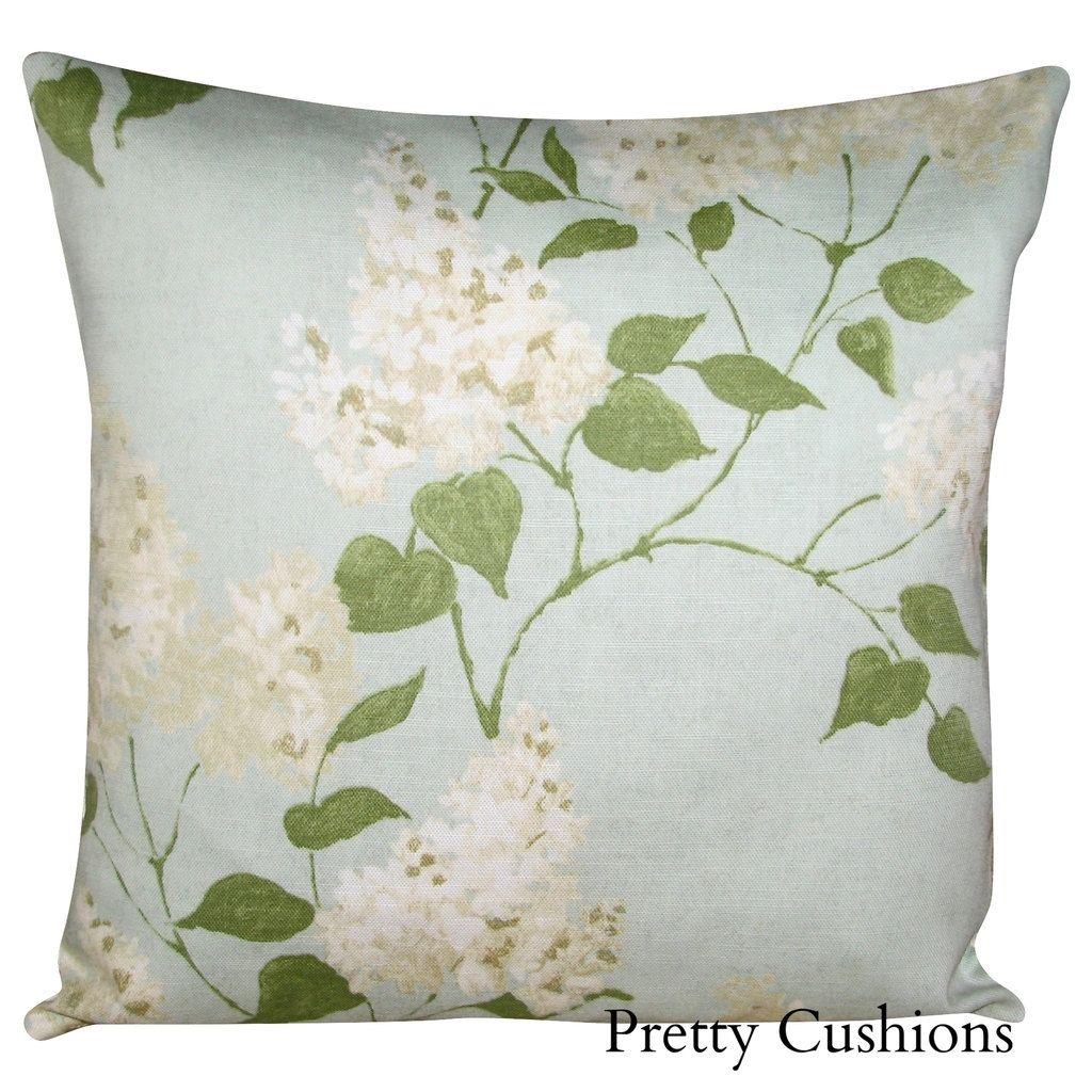 Romo Odille Floresca Green Bolster Cushion Cover