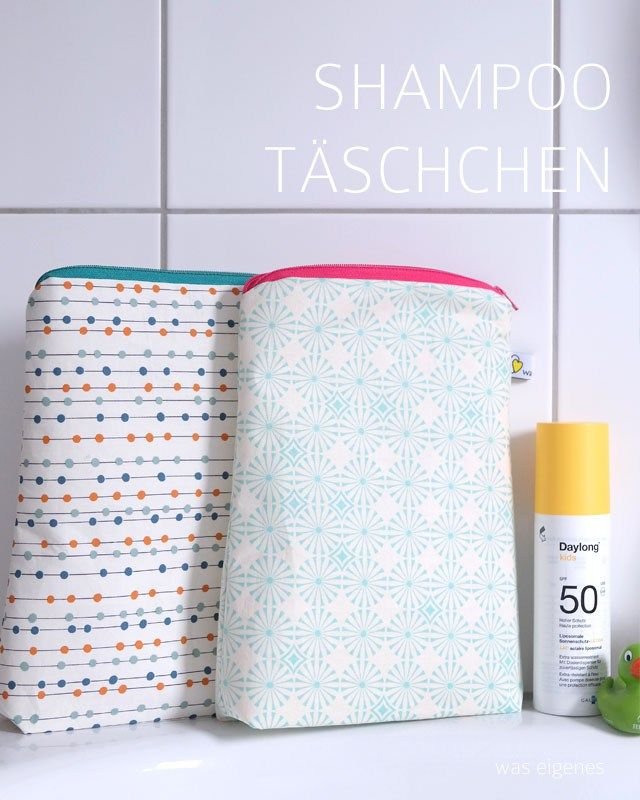 Neue Shampoo Täschchen im Shop | Nähen | Pinterest | Reißverschluss ...