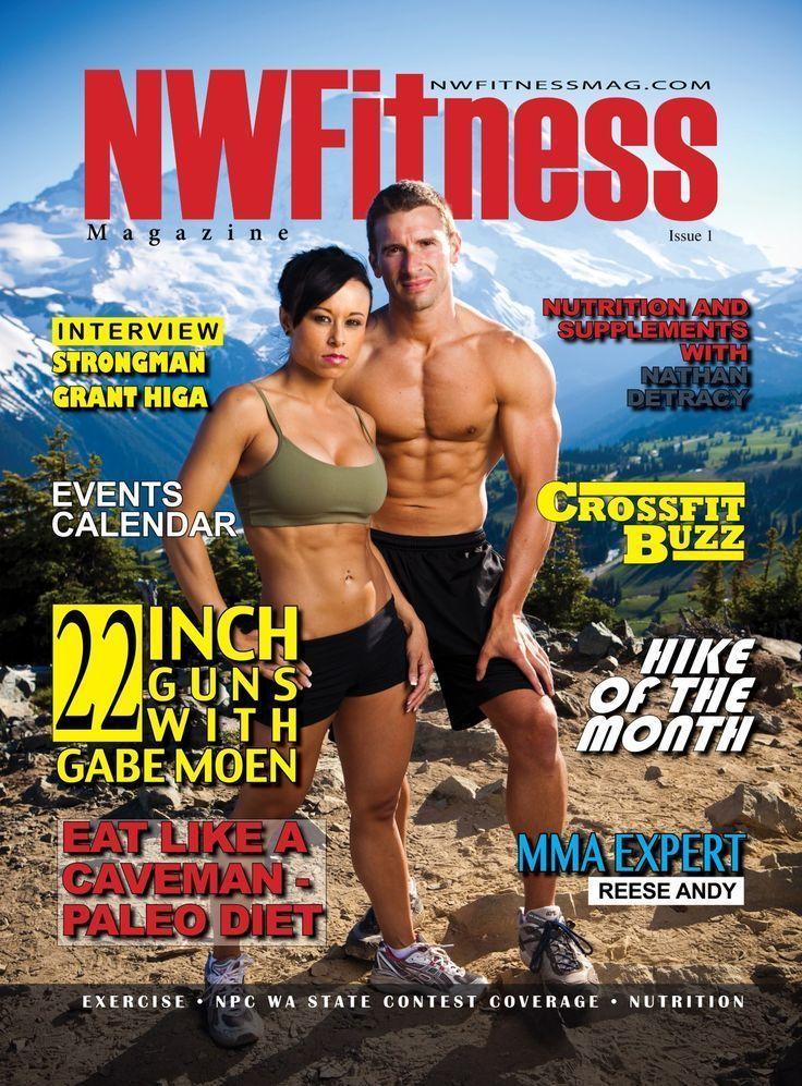 NW Fitness Magazine - Vollständige Ausgabe (Cover-Jen Turnbull-Rick Parchen) - ... - #Ausgabe #Cover...