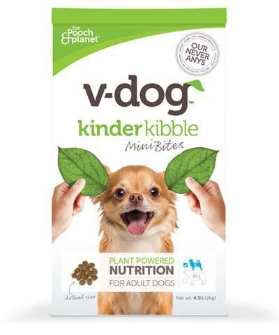 V Dog Vegan Dog Food Kibble Mini Bites Kibble For Small Dogs