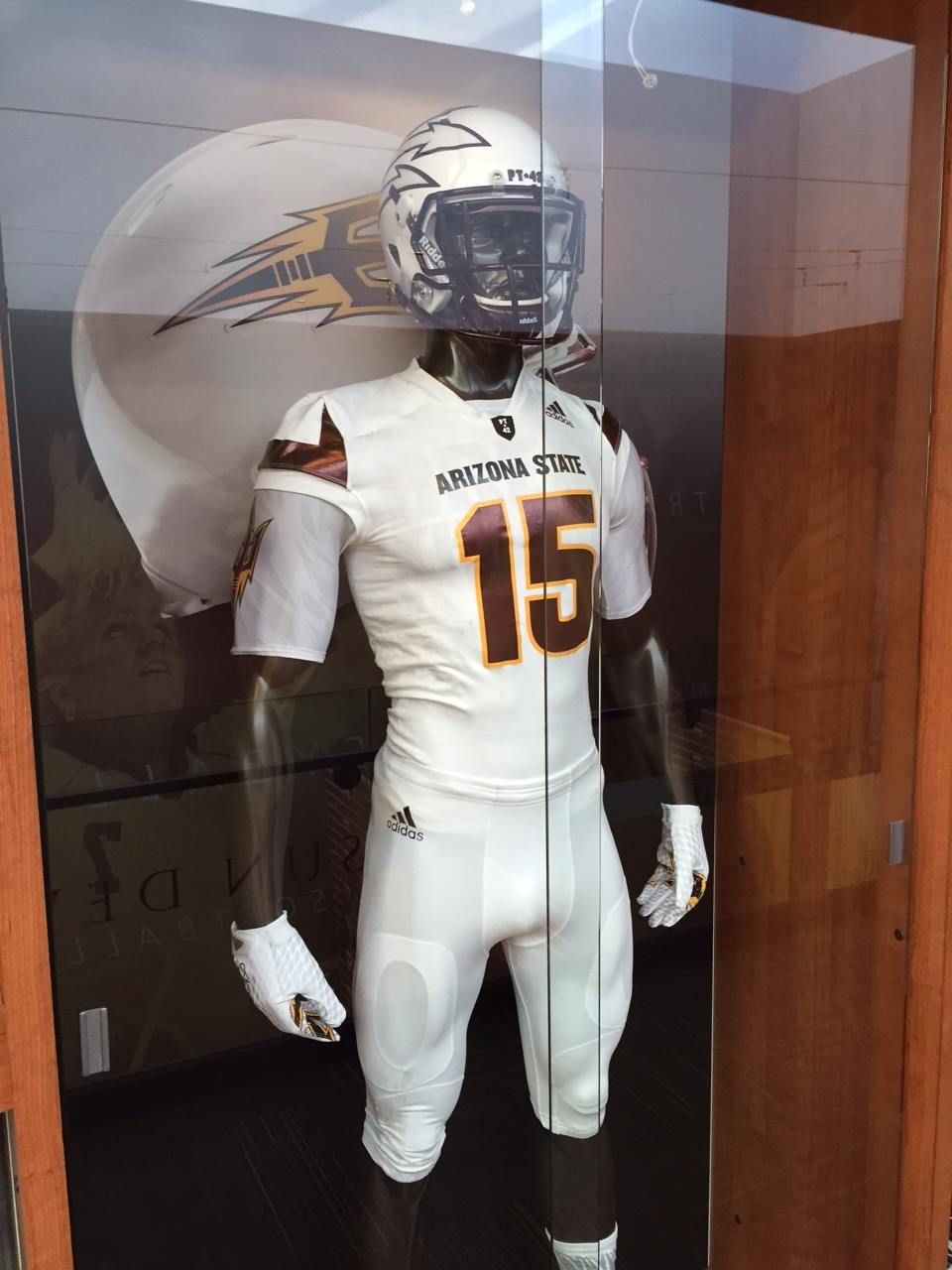 We Stopped By The Asu Football Offices To Get A Few More Shots Of