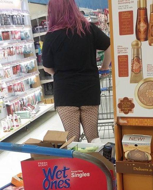 aaefa41241cce No Way Girl... Fishnet Stockings at Walmart | School | Fishnet ...