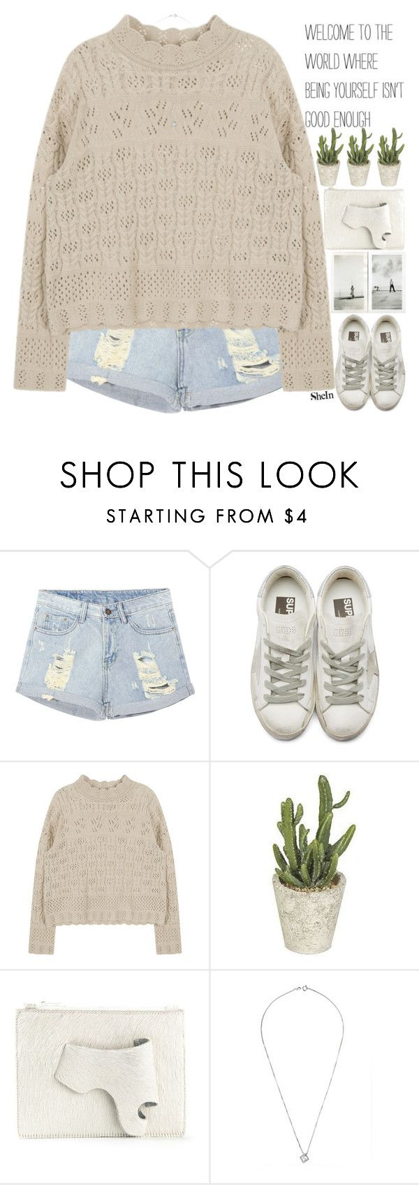 """make sure you take time to love yourself"" by alienbabs ❤ liked on Polyvore featuring Mikey, Golden Goose, New Ultra Group, clean, organized and shein"